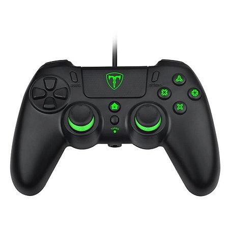 Controle T-Dagger Virgo PS4, PS3, Switch e PC - T-TGP800