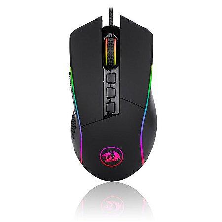 Mouse Gamer Redragon Lonewolf 2 Pro M721 RGB 32000dpi Preto