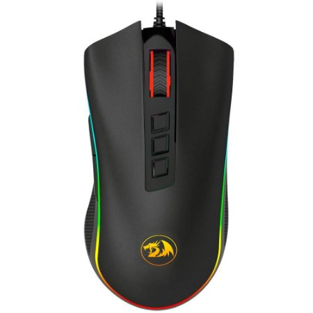 Mouse Gamer Redragon King Cobra M711-FPS RGB 24000dpi Preto