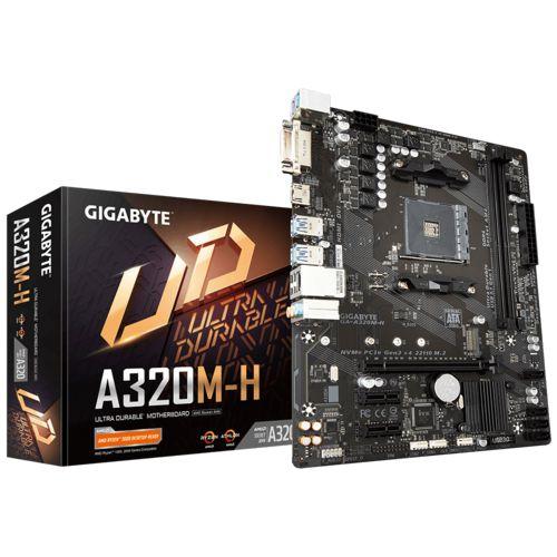 Placa Mãe Gigabyte AMD A320M-H Socket AM4 Chipset AMD A320