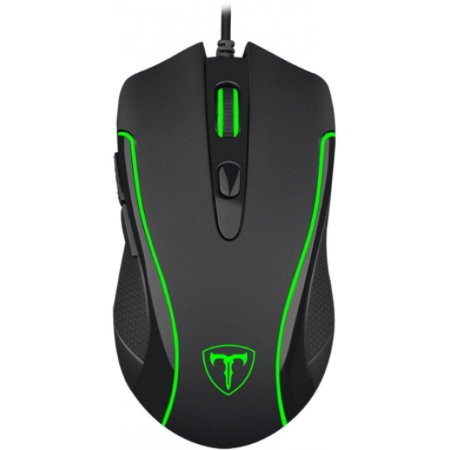 Mouse Gamer T-Dagger Private RGB 3200DPI 6 Botões T-TGM06