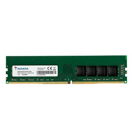 Memória Adata 8GB DDR4 3200Mhz AD4U3200G22-BGN
