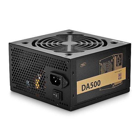 Fonte ATX 500W 80 Plus Bronze Deepcoll DA500 - DP-BZ-DA500N