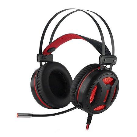Headset Gamer Redragon Minos H210 USB 7.1 canais