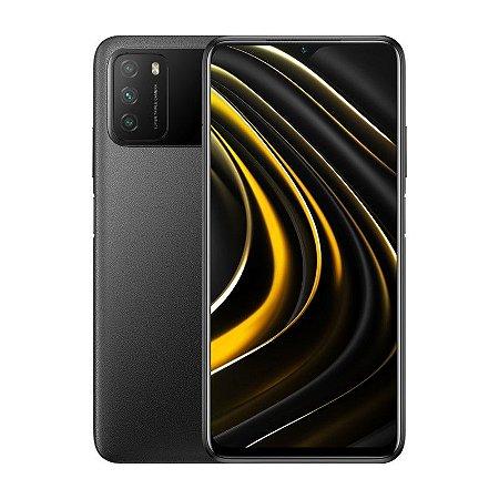 Smartphone Xiaomi Poco M3 128gb 4gb RAM Cool Black