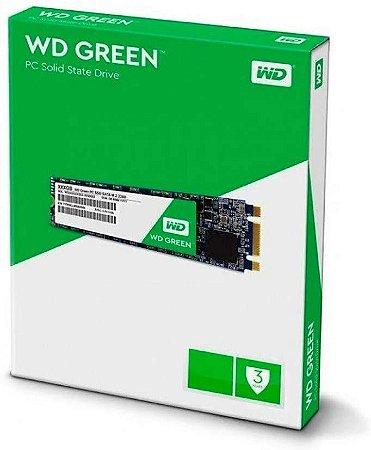 Hd SSD 480gb m.2 Western Digital - (wds480g2g0b)