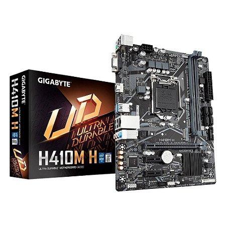 Placa Mãe Gigabyte Intel H410M-H Socket LGA 1200