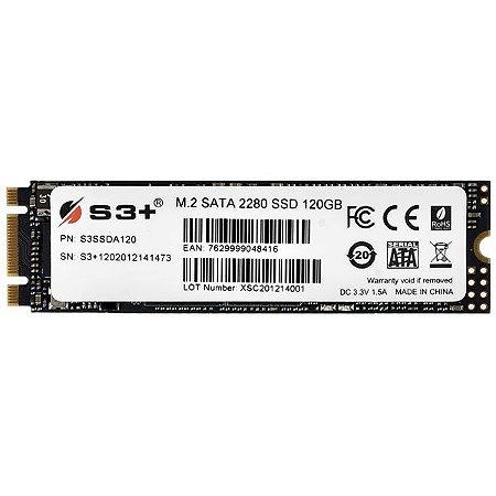 Hd SSD 120gb M.2 S3+ S3SSDA120