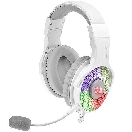 Headset Gamer Redragon Pandora RGB H350W- RGB Branco