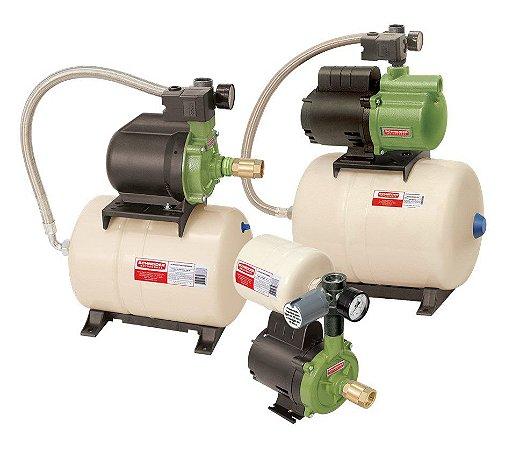 Sist. Pressurização TAP-08 Centrífuga CPW / Tanque 8 litros - 1/2CV