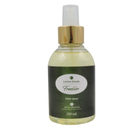 Home Spray - Amo Frescor - Lemon Grass - 200 ml