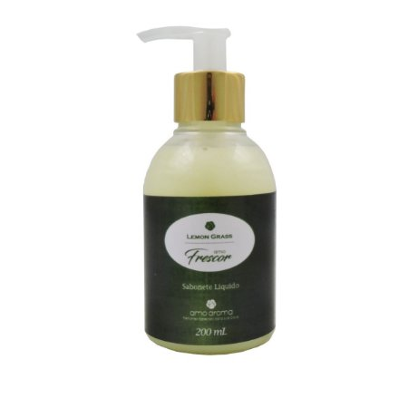 Sabonete Liquido -  Lemongrass - 200 ml