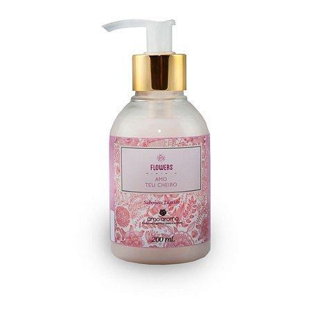 Sabonete Liquido - Flowers - 200 ml