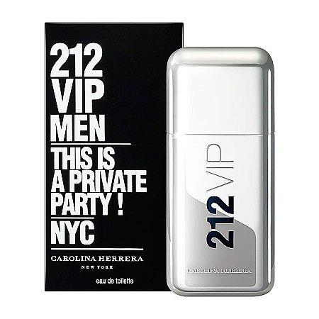 212 Vip Men By Carolina Herrera Eau De Toilette Masculino
