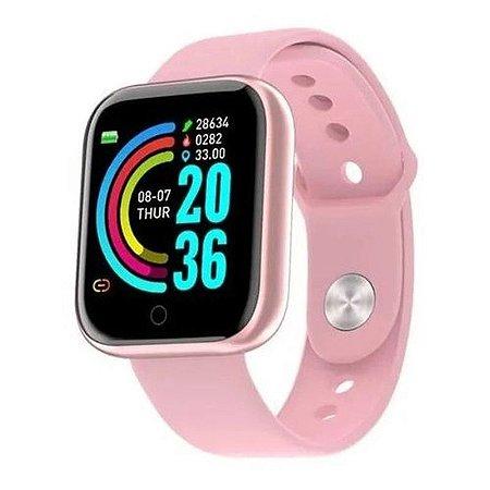 Relógio Smartwatch D20 - Rosa