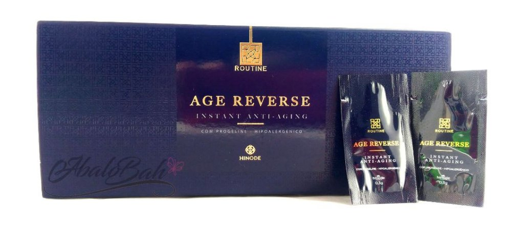 Creme Anti-idade Routine Age Reverse