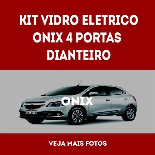 Kit Vidro Eletrico Onix 4 Portas Dianteiro