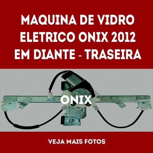 Maquina De Vidro Eletrico Onix Traseira Lado Esquerdo  2012 Em Diante