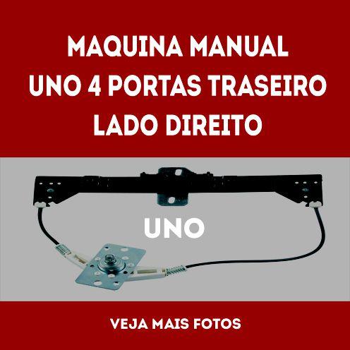 Maquina Manual Uno 4 Portas Traseiro Lado Direito