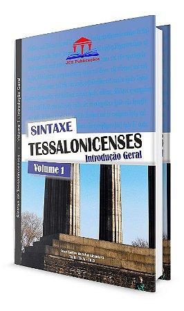 Sintaxe - Tessalonicenses - Volume 1