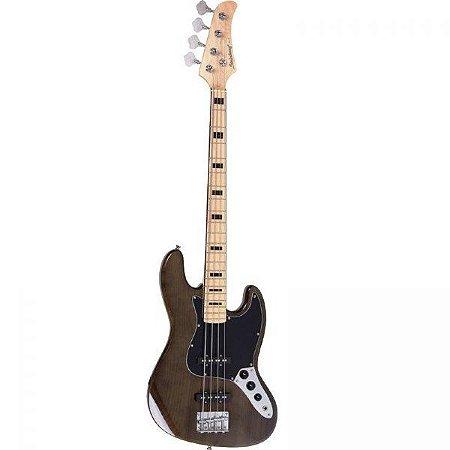 Contrabaixo 4 Cordas Strinberg Jazz Bass JBS50 Passivo - Marrom