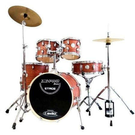 """Bateria X-Pro Stage 20""""- Brown Wood"""