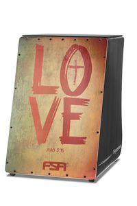 Cajon Elétrico FSA Gospel - FG1514 - Love