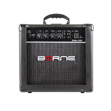 Amplificador para Guitarra Borne Strike G30 - 15 Watts - Preto