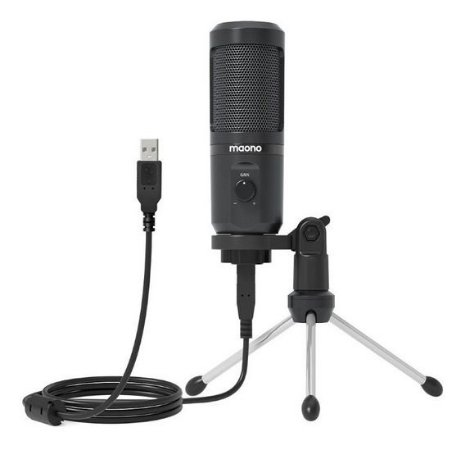 Microfone Condensador Maono USB