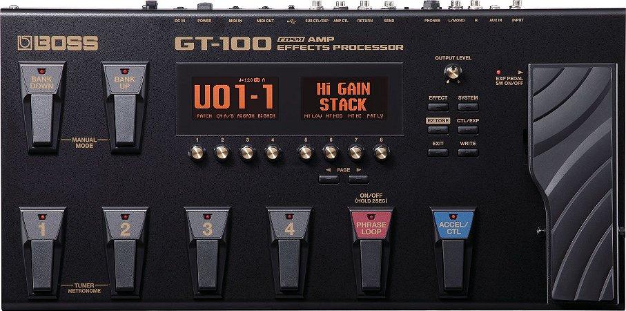 Pedaleira Multi Efeitos Boss GT100 (Usada)