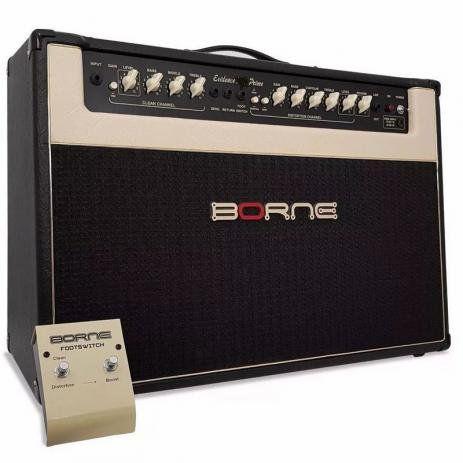 Cubo Amplificador para Guitarra Borne c/ 2 Falantes - Evidence 100 PRIME - 100w RMS (Usado)