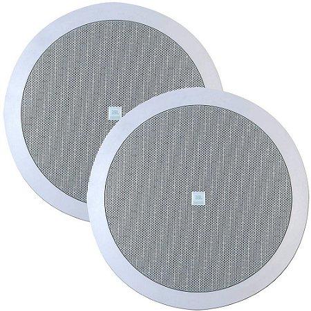 Caixa de Som Arandela JBL 6CO2R Redonda 50W Rms (Par)