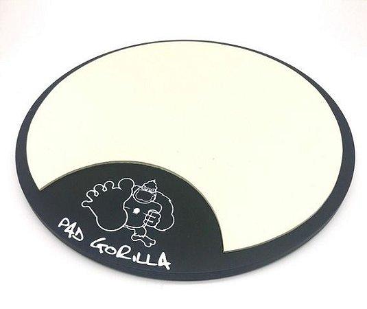 """Pad de Estudo Gorilla 8"""" PG8 Slim - Estudo de rebote e movimento na Bateria"""
