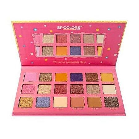 Paleta de sombras Candy - Sp Colors