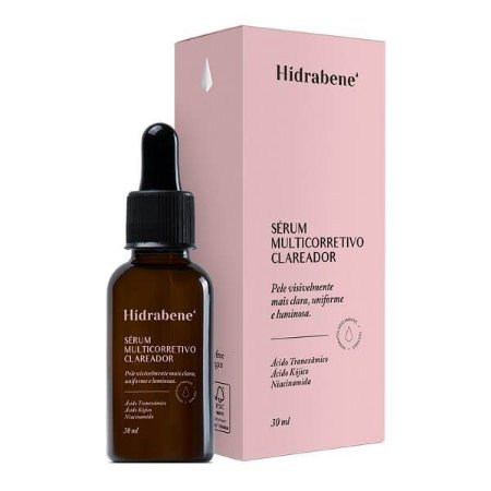 Sérum Multicorretivo Clareador - Hidrabene
