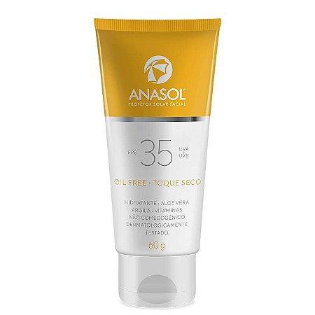 Protetor solar toque seco FPS35 - Anasol