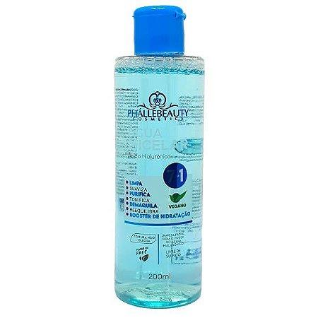 Água micelar ácido hialurônico - Phallebeauty