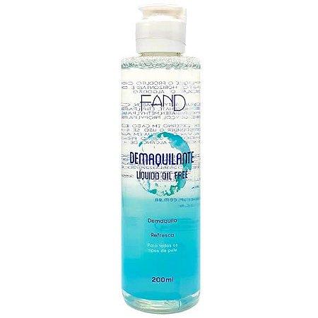 Demaquilante líquido Oil Free - Fand