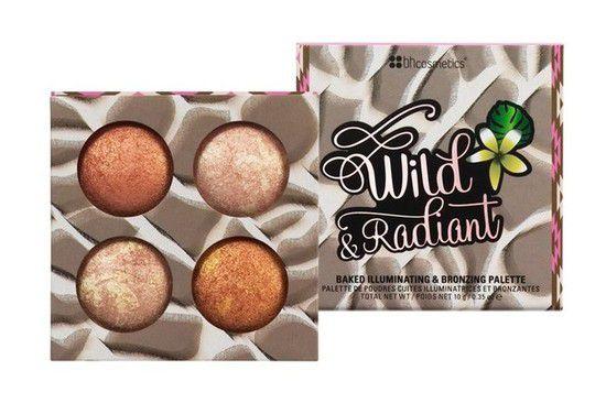 Paleta de Iluminadores Wild & Radiant - BH Cosmetics