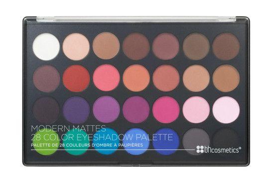 Paleta com 28 Sombras Modern Mattes - BH Cosmetics