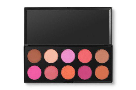 Paleta com 10 Blushes Professional - BH Cosmetics