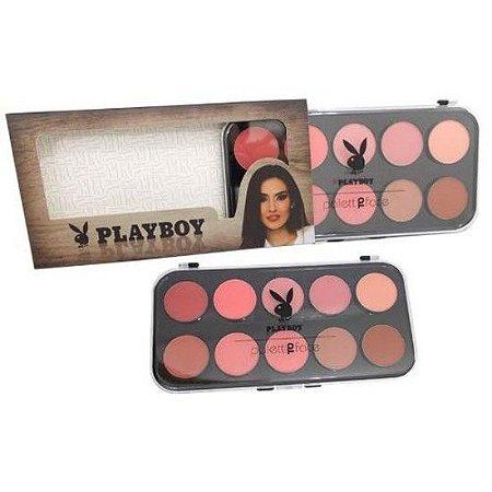 Paleta com 10 Blushes - Playboy