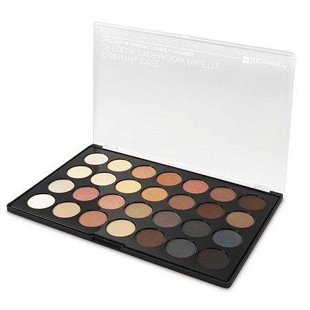 Paleta Essential Eyes com 28 Sombras - BH Cosmetics
