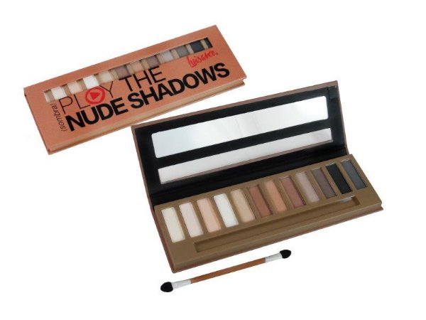 Paleta de Sombras Play the Nude Shadows - Luisance