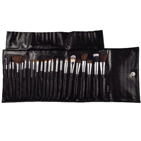 Kit com 22 pincéis para maquiagem - Macrilan