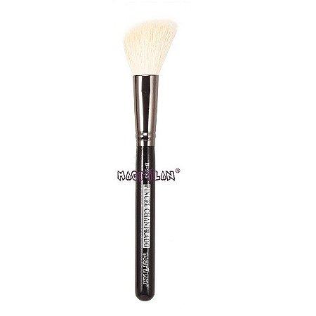 Pincel profissional Chanfrado para blush B908 - Macrilan