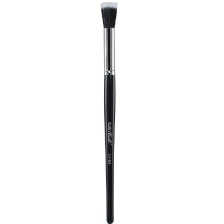 Pincel profissional flat duo fiber pequeno DF03 - Macrilan