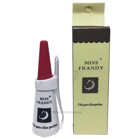 Cola para cílios postiços branca - Miss Frandy