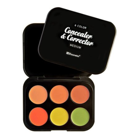 Kit 6 Corretivos Medium - BH Cosmetics