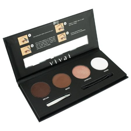 Paleta para sobrancelhas Best Brow - Vivai